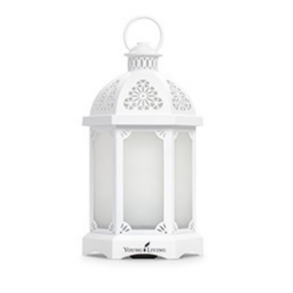 Young Living White Lantern Diffuser - NEW